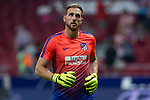 Jan Oblak of Atletico Madrid during the match between Atletico Madrid v SD Huesca of LaLiga, 2018-2019 season, date 6. Wanda Metropolitano Stadium. Madrid, Spain - 25 September 2018. Mandatory credit: Ana Marcos / PRESSINPHOTO