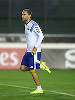 Pablo Zabaleta of Argentina during training