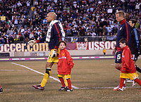 Tim Howard, escort. The USMNT tied Argentina, 1-1, at the New Meadowlands Stadium in East Rutherford, NJ.