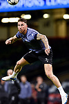 Sergio Ramos of Real Madrid during the training session ahead the UEFA Champions League Final between Real Madrid and Juventus at the National Stadium of Wales, Cardiff, Wales on 2 June 2017. Photo by Giuseppe Maffia.<br /> Giuseppe Maffia/UK Sports Pics Ltd/Alterphotos