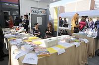 """Roma 29 Ottobre 2011.Salone dell'Editoria sociale nello spazio di """"Porta futuro""""."""