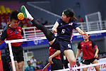 Yuumi Kawamata (JPN), <br /> AUGUST 30, 2018 - Sepak takroae : <br /> Women's Quadrant match between Japan - Vietnam<br /> at Jakabaring Sport Center Ranau Hall <br /> during the 2018 Jakarta Palembang Asian Games <br /> in Palembang, Indonesia. <br /> (Photo by Yohei Osada/AFLO SPORT)