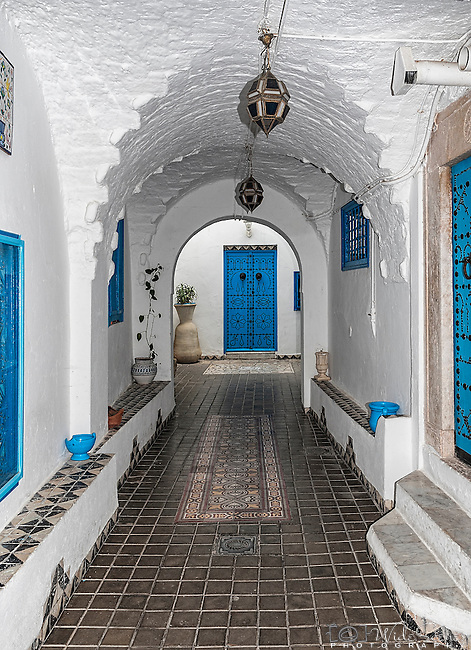 El Annabi House was built in the end of the 18th century. It was improved and redeveloped during the 20th century as a Summer Resort by Taib El Annabi, son of Mohamed El Annabi.