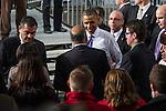 Obama Visit to Cleveland 2013