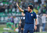 MEDELLIN - COLOMBIA, 29-05-2019: Fernando Diniz Silva técnico de Fluminense gesticula durante el partido de vuelta entre Atlético Nacional de Colombia y Fluminense de Brasil como parte de la Liga Águila I 2019 jugado en el estadio Atanasio Girardot de la ciudad de Medellín. / Fernando Diniz Silva coach of Fluminense gestures during second leg match between Atletico Nacional of Colombia and Fluminense of Brazil for the sixteenth-finals as part of the Copa CONMEBOL Sudamericana 2019 played at Atanasio Girardot stadium of Medellin city. Photo: VizzorImage / Leon Monsalve / Cont