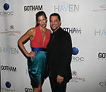 Orange Is The New Black Actress Alysia Rreiner and TV Land's Te Exes David Alan Basche Attend  Seth Meyers at Gotham magazine's 'The Men's Issue' release party at The Sanctuary Hotel powered by CÎROC Vodka, NY