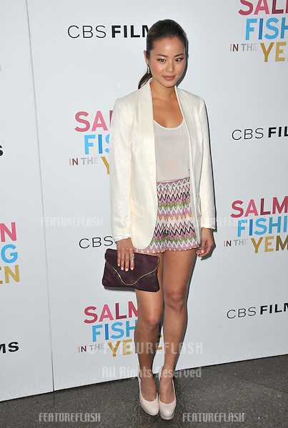 """Jamie Chung at the US premiere of """"Salmon Fishing in the Yemen"""" at the Directors Guild Theatre, West Hollywood..March 5, 2012  Los Angeles, CA.Picture: Paul Smith / Featureflash"""