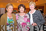 Kate Nealon, Margaret Murphy and Mary O'Neill, enjoying the Food Fair in aid of Spa/Fenit Hospice, held in Ballyroe Heights Hotel on Friday evening.