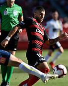 9th February 2019, Spotless Stadium, Sydney, Australia; A League football, Western Sydney Wanderers versus Central Coast Mariners; Jaushua Sotirio of the Western Sydney Wanderers