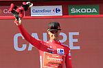 Nicolas Roche (IRL) Team Sunweb takes over the race leaders Red Jersey at the end of Stage 2 of La Vuelta 2019 running 199.6km from Benidorm to Calpe, Spain. 25th August 2019.<br /> Picture: Eoin Clarke | Cyclefile<br /> <br /> All photos usage must carry mandatory copyright credit (© Cyclefile | Eoin Clarke)