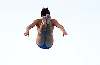 BARRANQUILLA - COLOMBIA, 20-07-2018: Angelo Acelbo durante su participación en la categoría clavados hombres como parte de los Juegos Centroamericanos y del Caribe Barranquilla 2018. /  Angelo Acelbo during his participation in the diving men's category of the Central American and Caribbean Sports Games Barranquilla 2018. Photo: VizzorImage / Alfonso Cervantes / Cont
