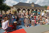 Atelier de percussions africaines