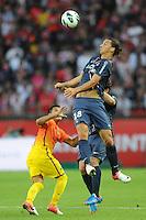 Zlatan Ibrahimovic (PSG).Parigi, 04/08/2012.Trofeo di Parigi .Paris Saint Germain vs FC Barcellona.foto Insidefoto / Jean Bibard / Panoramic ..Italy Only