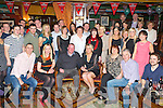 Valarie Lyne, Countess Grove, Killarney and Adrian Hegarty, Ross Road, Killarney who celebrated their engagement with their family and friends in the Killarney Avenue Hotel on Friday night....