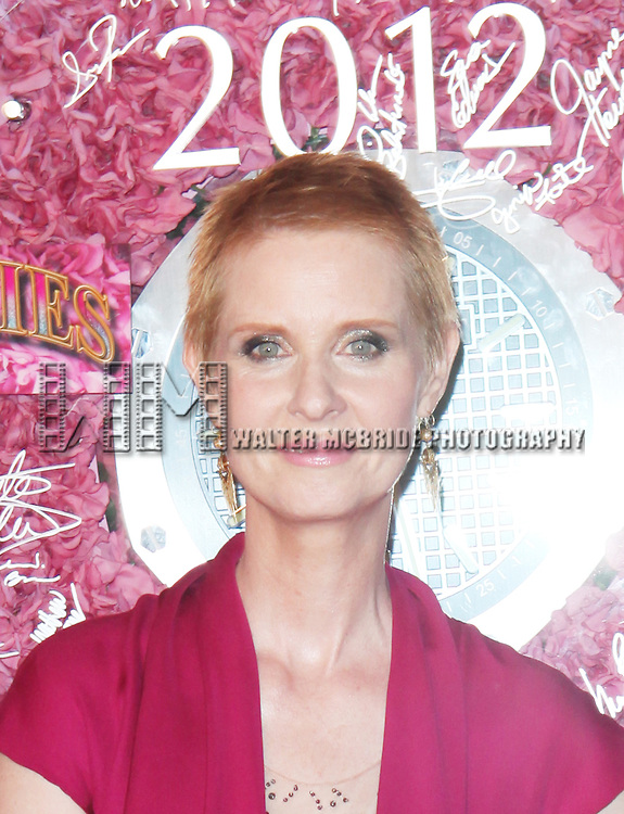 Cynthia Nixon pictured at the 66th Annual Tony Awards held at The Beacon Theatre in New York City , New York on June 10, 2012. © Walter McBride / WM Photography
