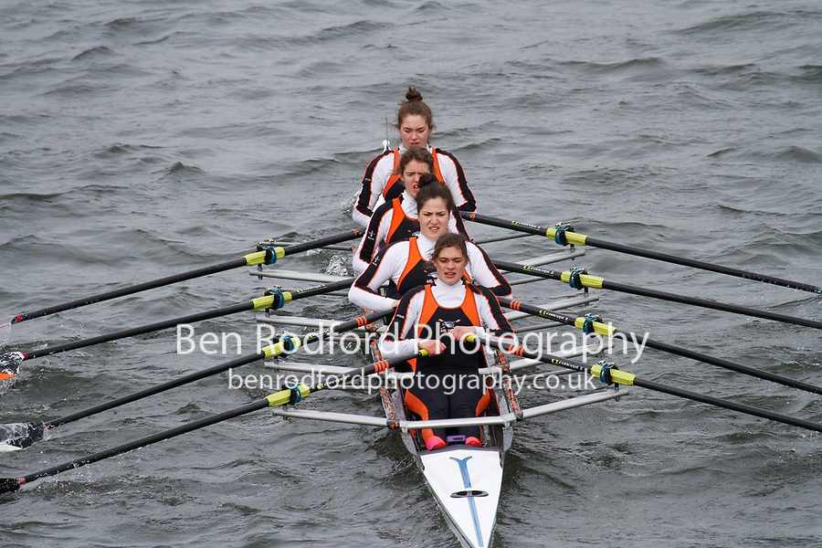 Crew: 269  American Sch  Event: Girls CHAMP quads<br /> <br /> Schools' Head of the River 2017<br /> <br /> To purchase this photo, or to see pricing information for Prints and Downloads, click the blue 'Add to Cart' button at the top-right of the page.