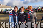 Pictured at Lixnaw Coursing Club 86th Annual Meeting at Granshagh, Ballinclogher on Sunday were L-R Roisin Relihan, Nora Raleigh and Ann Marie Relihan, Adare.