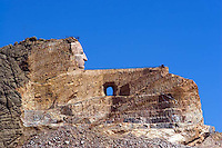 Crazy Horse monument in Custer, South Dakota.