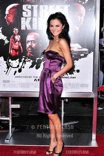 "Martha Higareda at the Los Angeles premiere of her new movie ""Street Kings"" at Grauman's Chinese Theatre, Hollywood..April 3, 2008  Los Angeles, CA.Picture: Paul Smith / Featureflash"