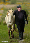 PEIG BACK WHERE SHE BELONGS...<br /> South Kerry Deputy Jackie Healy-Rae was over the moon when Gardai returned his mare 'Peig' ,which was located after a tip off to Gardai, tied to a tree in the North Kerry area. The albino pony was stolen over a month ago and was reunited with its owner yesterday looking deshevelled and weak. No ransom was paid and the pony is now being cared for in a secret location.<br /> Picture by Don MacMonagle