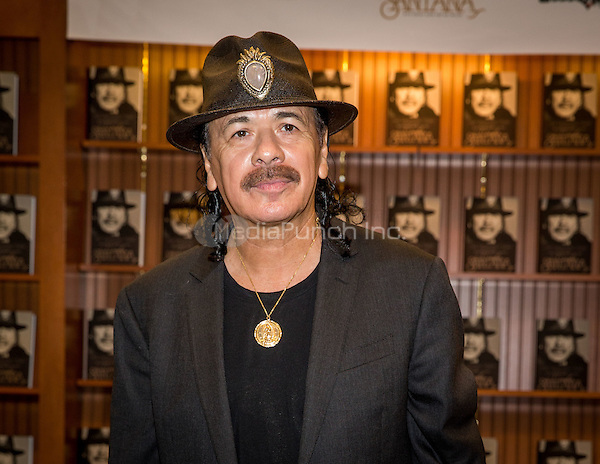 LAS VEGAS, NV - November 4: Carlos Santana book signing for THE UNIVERSAL TONE: Bringing My Story to Light by Carlos Santana at Barnes & Noble Booksellers in Las Vegas, NV on November 4, 2014.RTNEK Photography / MediaPunch