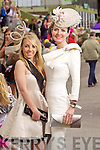 Sarah Foale and Annemarie O'Leary Tralee pictured at Killarney Races Ladies day on Thursday.