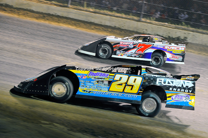 Jun 6, 2009; 11:09:58 PM; Rossburg, OH., USA; The running of the Dream XV  Dirt Late Models at the Eldora Speedway.  Mandatory Credit: (thesportswire.net)