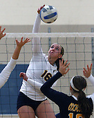 Clarkston at Oxford, Varsity Volleyball, 10/24/13