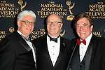 LOS ANGELES - APR 24: Bob Mauro, Charles L Dages, David Michaels at The 42nd Daytime Creative Arts Emmy Awards Gala at the Universal Hilton Hotel on April 24, 2015 in Los Angeles, California