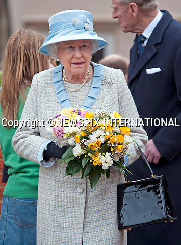 """THE QUEEN.together with the Duke of Edinburgh, Princess Anne, Prince Andrew, Prince Edward and Sophie, Countess of Wessex attended the Easter Service at St George Chapel, Windsor Castle, Windsor_09/04/2009.Mandatory Photo Credit: ©Dias/Newspix International..**ALL FEES PAYABLE TO: """"NEWSPIX INTERNATIONAL""""**..PHOTO CREDIT MANDATORY!!: NEWSPIX INTERNATIONAL(Failure to credit will incur a surcharge of 100% of reproduction fees)..IMMEDIATE CONFIRMATION OF USAGE REQUIRED:.Newspix International, 31 Chinnery Hill, Bishop's Stortford, ENGLAND CM23 3PS.Tel:+441279 324672  ; Fax: +441279656877.Mobile:  0777568 1153.e-mail: info@newspixinternational.co.uk"""