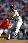 17 June 2006: Mariano Rivera, pitcher for the New York Yankees, in action against the Washington Nationals at RFK Stadium, in Washington, DC. The Nationals overcame a seven run deficit to win 11-9 in the second game of the interleague series...Mandatory Photo Credit: Ed Wolfstein Photo...