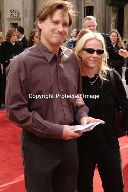Bill Pullman and wife Tamara<br />