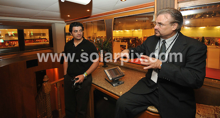 **ALL ROUND PICTURES FROM SOLARPIX.COM**.**WORLDWIDE SYNDICATION RIGHTS**.Ronald Anderson, owner of Anderson Mobile Estates, The mobile home for the A-list. Hollywood actor Will Smith, singer Mariah Carey and David and Victoria Beckham have all used the luxury Anderson Mobile Estates home when on location. Dubai, UAE. 30 April 2009..This pic: Anderson Mobile Estates..JOB REF: 8934 DBL     DATE: 30_04_2009.**MUST CREDIT SOLARPIX.COM OR DOUBLE FEE WILL BE CHARGED**.**ONLINE USAGE FEE GBP 50.00 PER PICTURE - NOTIFICATION OF USAGE TO PHOTO @ SOLARPIX.COM**.**CALL SOLARPIX : +34 952 811 768 or LOW RATE FROM UK 0844 617 7637**