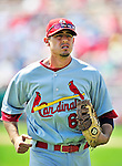 14 March 2010: St. Louis Cardinals' infielder Allen Craig in action during a Spring Training game against the Washington Nationals at Space Coast Stadium in Viera, Florida. The Cardinals defeated the Nationals 7-3 in Grapefruit League action. Mandatory Credit: Ed Wolfstein Photo