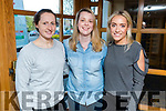 Martina O'Brien, Mairead Sheehan and Leonie Flaherty, pictured at the Health and Wellbeing Evening in the Brandon Hotel, Tralee which was hosted by Lee Strand and the Dairy Council on Thursday, April 6th last.