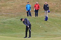 Ashley Chesters (ENG) on the 1st fairway during Round 1 of the Dubai Duty Free Irish Open at Ballyliffin Golf Club, Donegal on Thursday 5th July 2018.<br /> Picture:  Thos Caffrey / Golffile