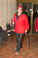 April 25 2003, Montreal, Quebec, Canada<br /> <br /> Francine Grimaldi  April 25 2003  in Montreal, Canada.<br /> <br /> NO MODEL RELEASE - Editorial related to this event only<br /> <br /> Mandatory Credit: Photo by Pierre Roussel- Images Distribution. (©) Copyright 2003 by Pierre Roussel <br /> <br /> NOTE : <br />  Nikon D-1 jpeg opened with Qimage icc profile, saved in Adobe 1998 RGB<br /> .Uncompressed  Original  size  file availble on request.