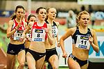 17.02.2018,  Helmut-K&ouml;rnig-Halle, Dortmund, GER, Deutsche Leichtathletik Meisterschaften Dortmund 2018, <br /> <br /> im Bild | picture shows:<br /> Vorlauf 1500 m der Frauen, <br /> <br /> <br /> Foto &copy; nordphoto / Rauch