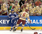 Paul Weisgarber (Air Force - 10), Patrick Wey (BC - 6) - Destry Straight (BC - 17), Chris Kreider (BC - 19), Paul Carey (BC - 22), Pat Mullane (BC - 11), Kevin Hayes (BC - 12), Johnny Gaudreau (BC - 13) - The Boston College Eagles defeated the Air Force Academy Falcons 2-0 in their NCAA Northeast Regional semi-final matchup on Saturday, March 24, 2012, at the DCU Center in Worcester, Massachusetts.