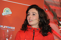 SCHAATSEN: AMSTELVEEN: 15-10-2013, De Jonge Dikkert, Perspresentatie Team LIGA, Mayon Kuipers, ©foto Martin de Jong