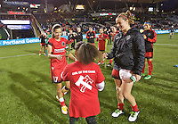 Portland, Oregon - Saturday May 21, 2016: The Portland Thorns Tobin Heath (17) during a regular season NWSL match at Providence Park. The Thorns won 4-1.