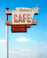 Diamond Cafe restaurant on old Route 66 in Sapulpa, OK