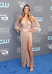 SANTA MONICA, CA - JANUARY 11: TV personality/model Heidi Klum attends The 23rd Annual Critics' Choice Awards at Barker Hangar on January 11, 2018 in Santa Monica, California.
