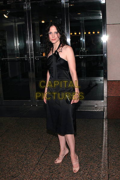"MARIA LOUISE PARKER.Arrives at the premiere of new film, ""The Dying Gaul"", at the Walter Reade Theater in Lincoln Center, New York, New York, USA, 28June 2005..full length black dress.Ref: ADM.www.capitalpictures.com.sales@capitalpictures.com.©Patti Ouderkirk/AdMedia/Capital Pictures."