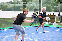 Den Bosch, Netherlands, 08 June, 2016, Tennis, Ricoh Open, Padel tennis<br /> Photo: Henk Koster/tennisimages.com