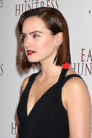 """LOS ANGELES, CA - OCTOBER 18: Daisy Ridley at the """"The Eagle Huntress"""" Premiere at the Pacific Theaters at the Grove, Los Angeles, California on October 18, 2016.  Credit: David Edwards/MediaPunch"""