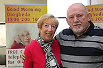 Joan McEvoy John monahan..at the beat the burglar exhibition in the D Hotel.Picture: Fran Caffrey/www.newsfile.ie.