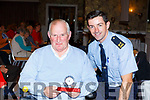 Michael McCarthy recieved a Special Award from the Tralee Tidy Towns committee, presented by Garda Aidan O'Mahoney for his work in Baile Mhuire Day centre in Tralee at the Tralee Tidy Towns awards in the Rose Hotel on Tuesday night.