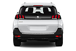 Straight rear view of a 2019 Peugeot 5008 Allure 5 Door SUV stock images