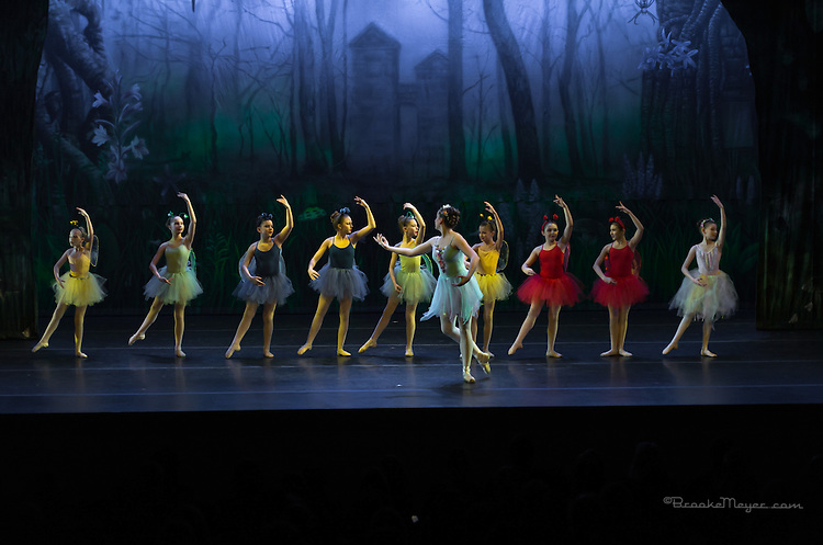 """""""Tales of An Athenian Forest"""" Cary Ballet Company's 16th Annual Spring Gala, Friday 7 PM Performance, 15 March 2013, Cary Arts Center."""